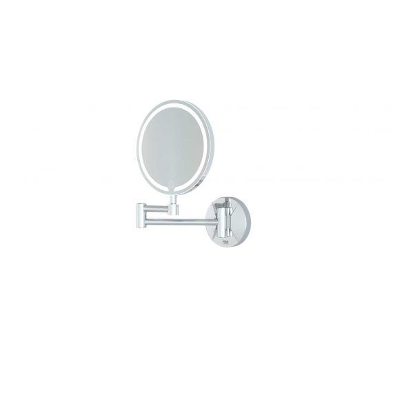 RAK-Demeter LED Illuminated Round 3x Magnifying Mirror with touch sensor switch