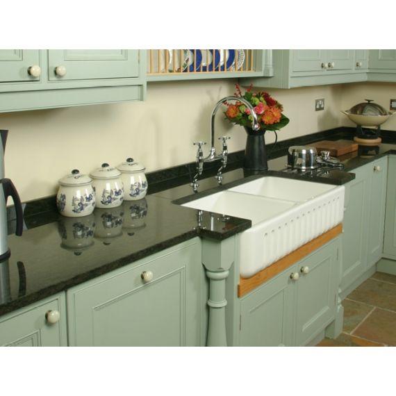 Shaws of Darwen Ribchester 1000 Belfast Kitchen Sink SO2400010WH