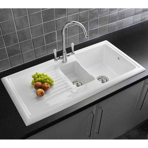 Reginox 1.5 Bowl Ceramic Kitchen Sink