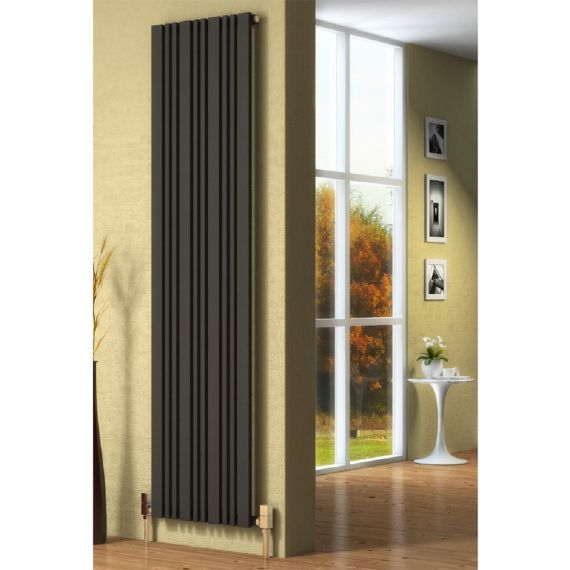 Reina Bonera Anthracite Radiator 1800x456mm