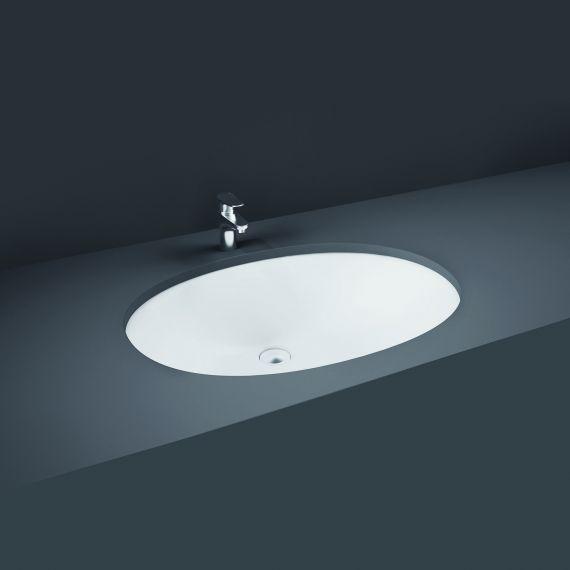 RAK-Rosa 57cm Under Counter Wash Basin