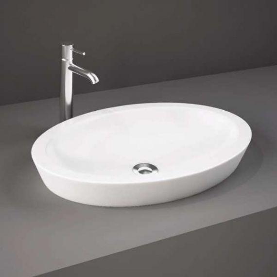 RAK Resort 58cm Oval Counter Top Basin 580 x 365