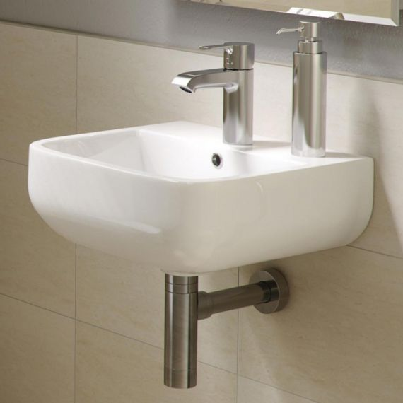 RAK Series 600 Cloakroom Hand Basin Sink 40cm 2TH