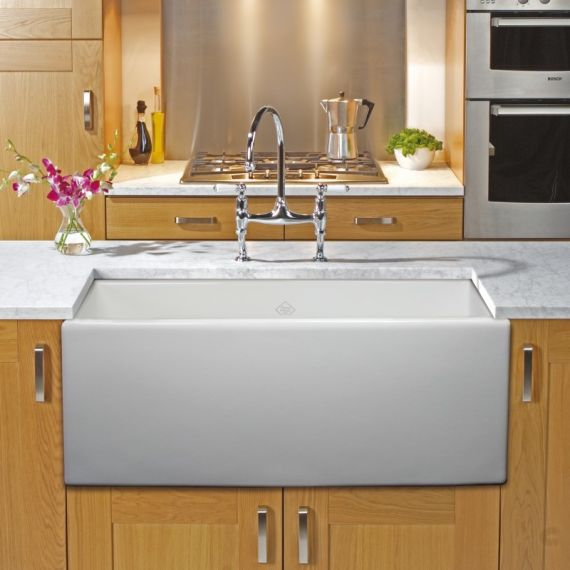 Classic SCSH600WH Shaker 600 Belfast Sink