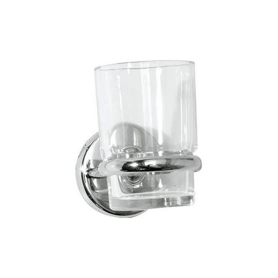 Roper Rhodes 3516.02 Wessex Clear Glass Toothbrush Holder
