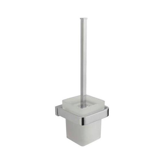 Tre Mercati Disc Toilet Brush Holder Chrome 3208