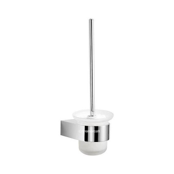 Tre Mercati Letto Toilet Brush Holder Chrome 3108