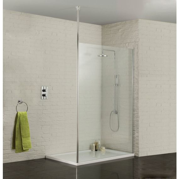 Sommer 1200 Wetroom Panel 8mm Glass
