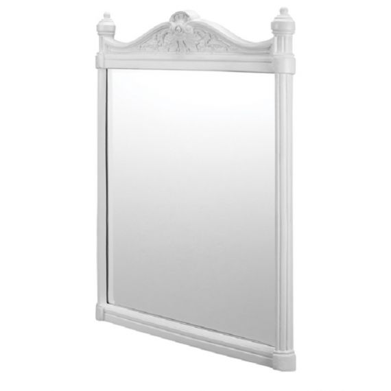 Georgian Mirror White Aluminium Frame
