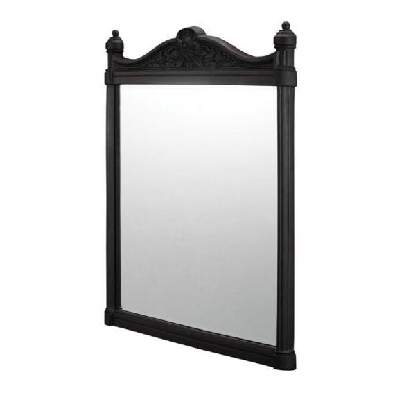 Georgian Mirror Black Aluminium