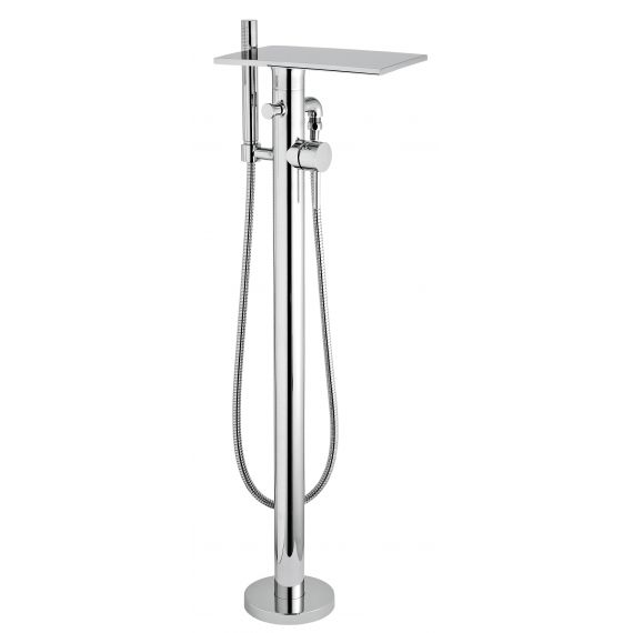 Waterfall Floor Standing Bath Shower Mixer