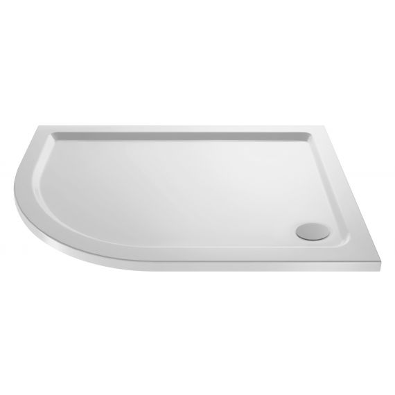 Nuie Offset Quad Shower Tray LH 1200 x 800mm