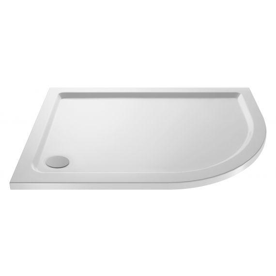 Nuie Offset Quad Shower Tray RH 1200 x 800mm