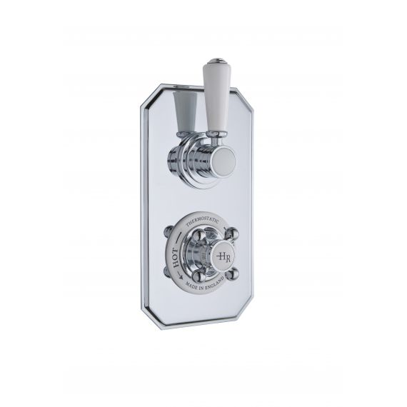 Twin Thermostatic Shower Valve