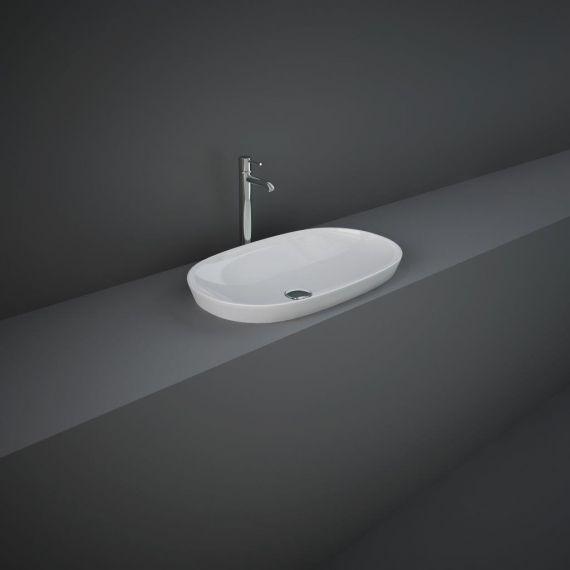 RAK-Variant Elongated Oval Drop-In Wash Basin 60cm