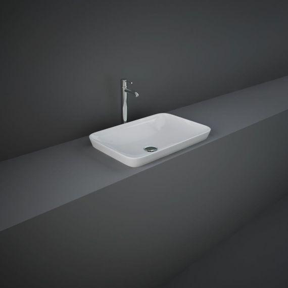 RAK-Variant Rectangular Drop-In Wash Basin 55cm