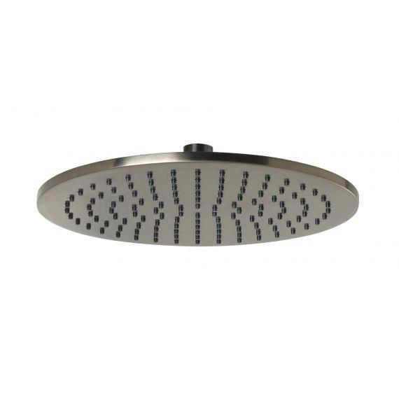 VOS Overhead Shower 250mm Brushed Black