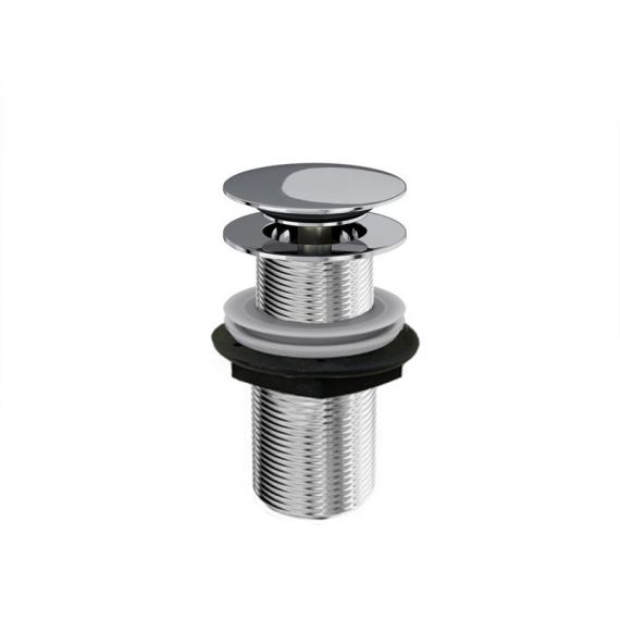 ClearWater Click/Clack Chrome Sprung Plug Basin Waste W22