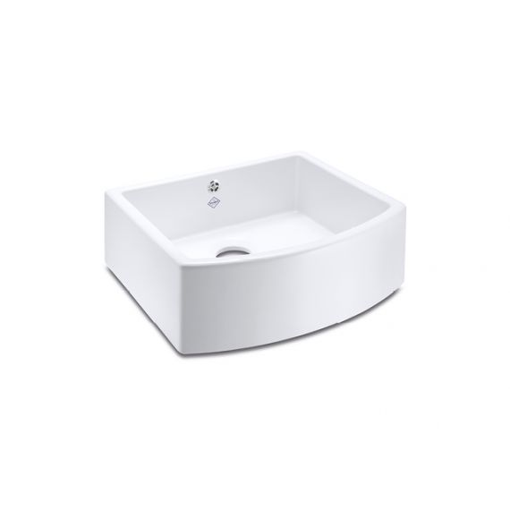 Shaws Waterling White Bathroom Sink