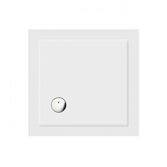 Zamori Square White Shower Tray 800 x 800