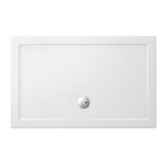 Zamori Rectangle White Antislip Shower Tray 1200 x 1000
